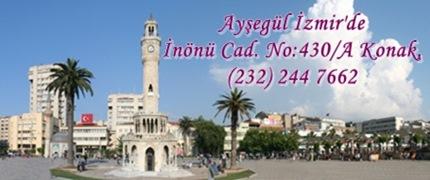 Ayşegül İzmir'de